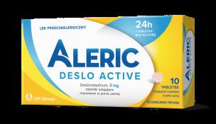 Tabletki na alergię Aleric Deslo Active