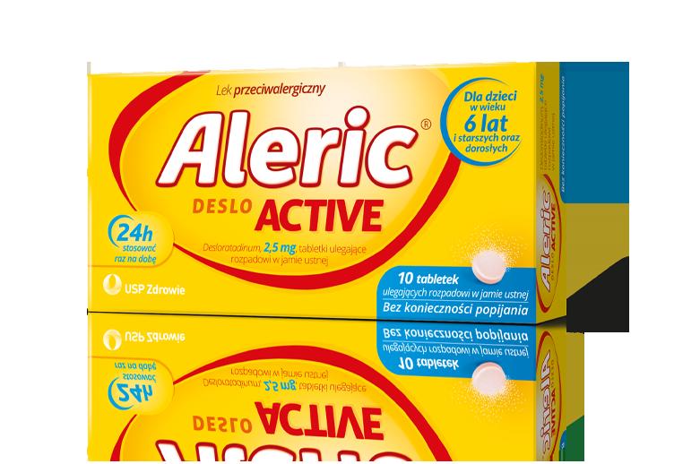 Aleric Deslo Active tabletki na alergię