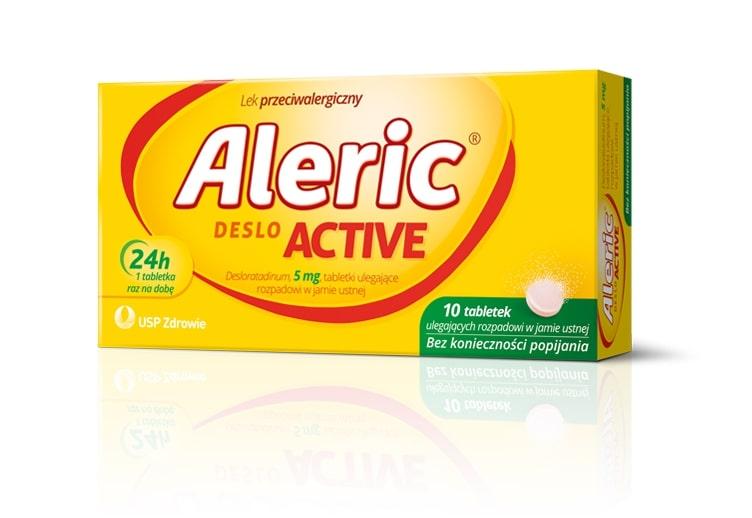 Aleric Deslo Active - lek przeciwalergiczny, nowe opakowanie